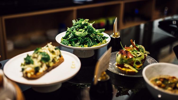 Nachhaltiges Restaurant