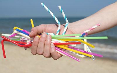 Tschüss Plastiktrinkhalme